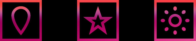 Q2 Werbeagentur, Multivision, Icons