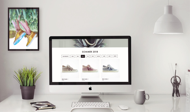 Q2 Werbeagentur, Chaaya, Website