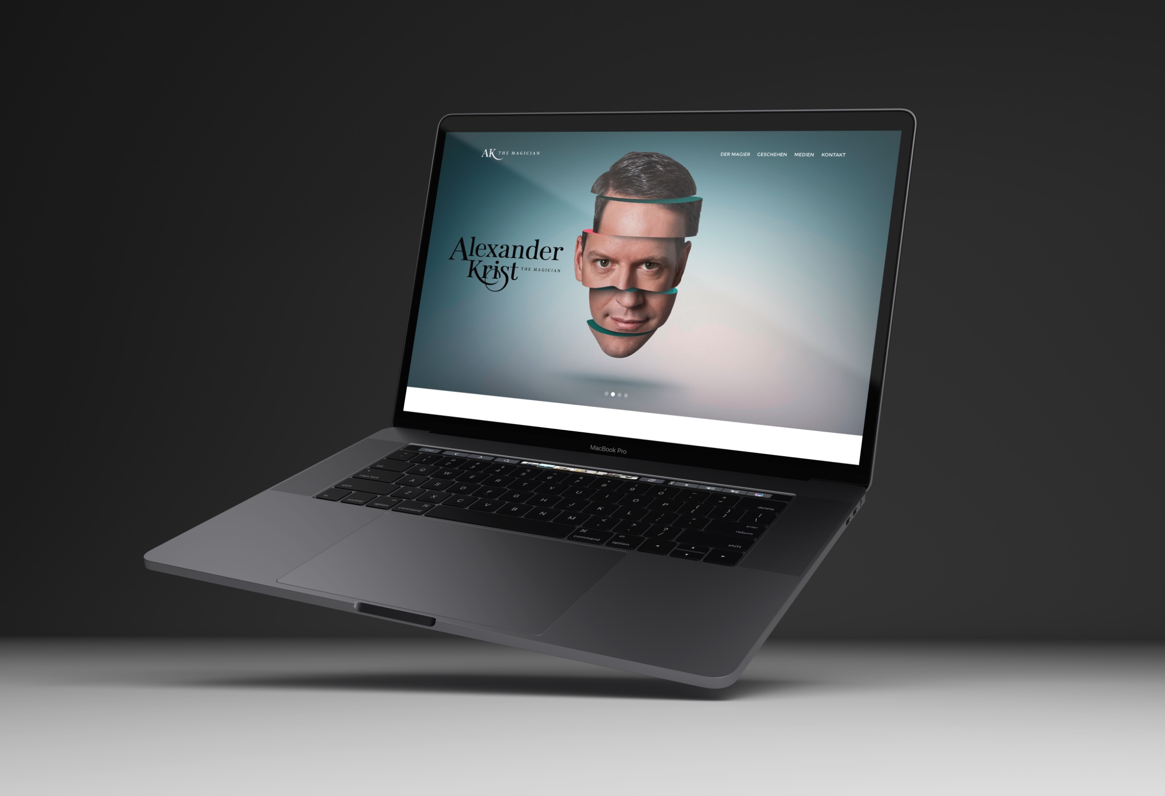 Q2 Werbeagentur, Krist-Munch, Website