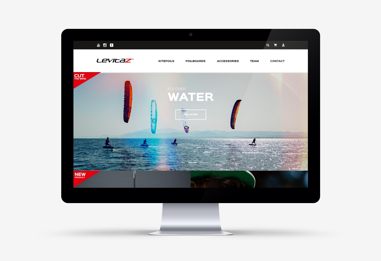 Q2 Werbeagentur, Levitaz, Website