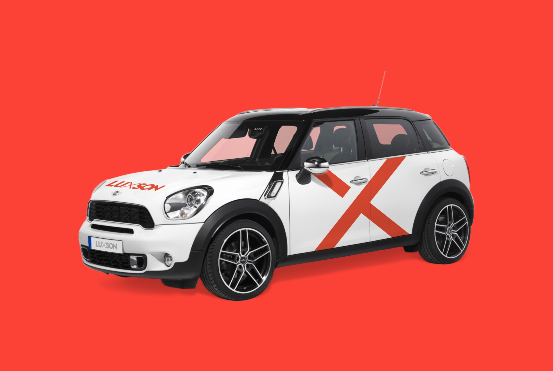 Q2 Werbeagentur, Luxson, Auto