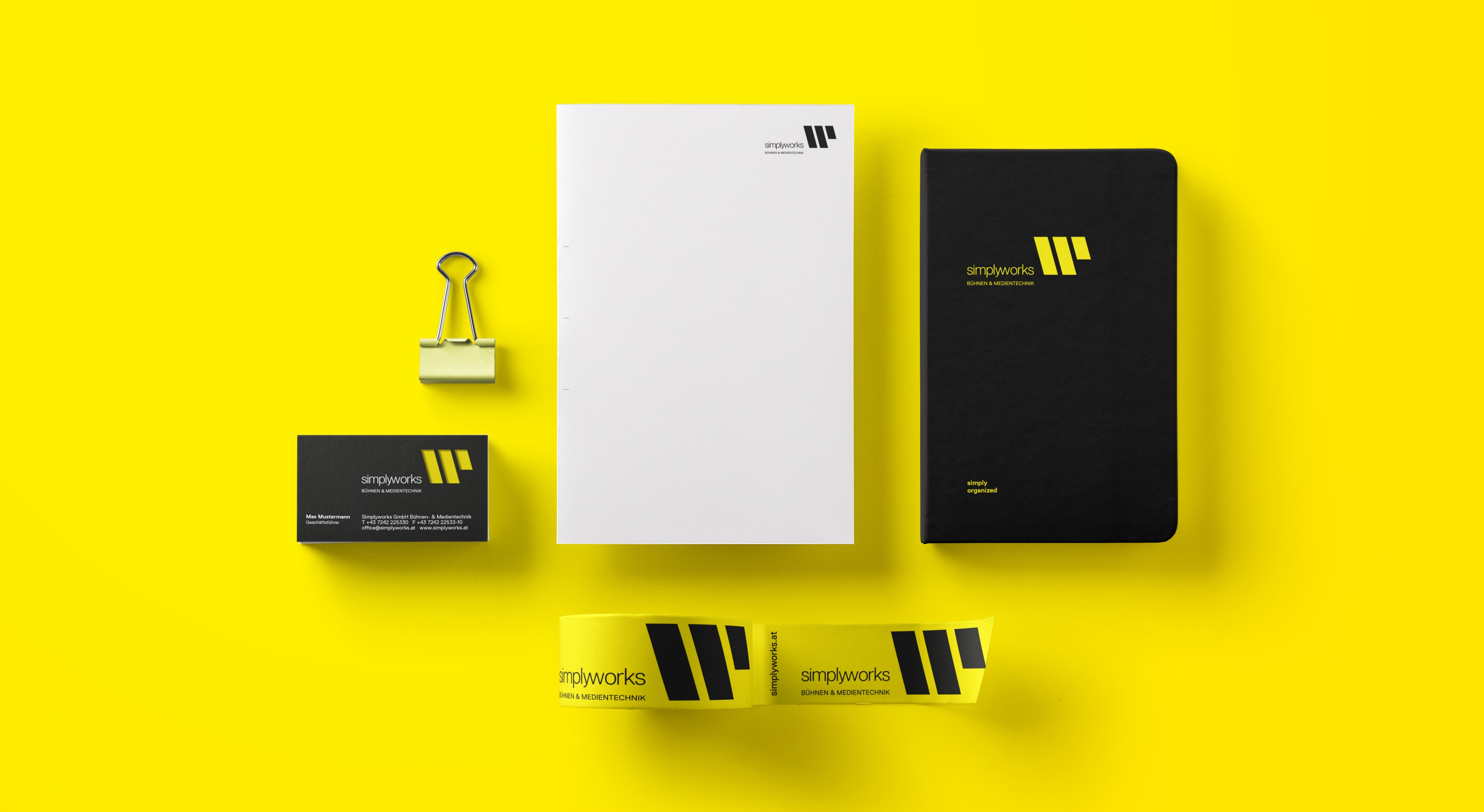 Q2 Werbeagentur, Simply-works, Corporate Design