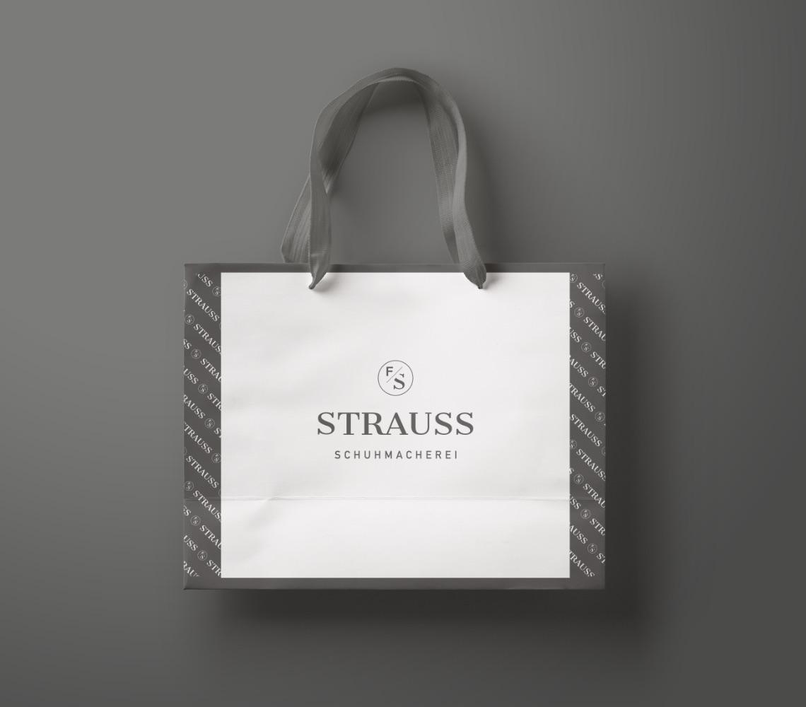 Q2 Werbeagentur, Strauss, Print