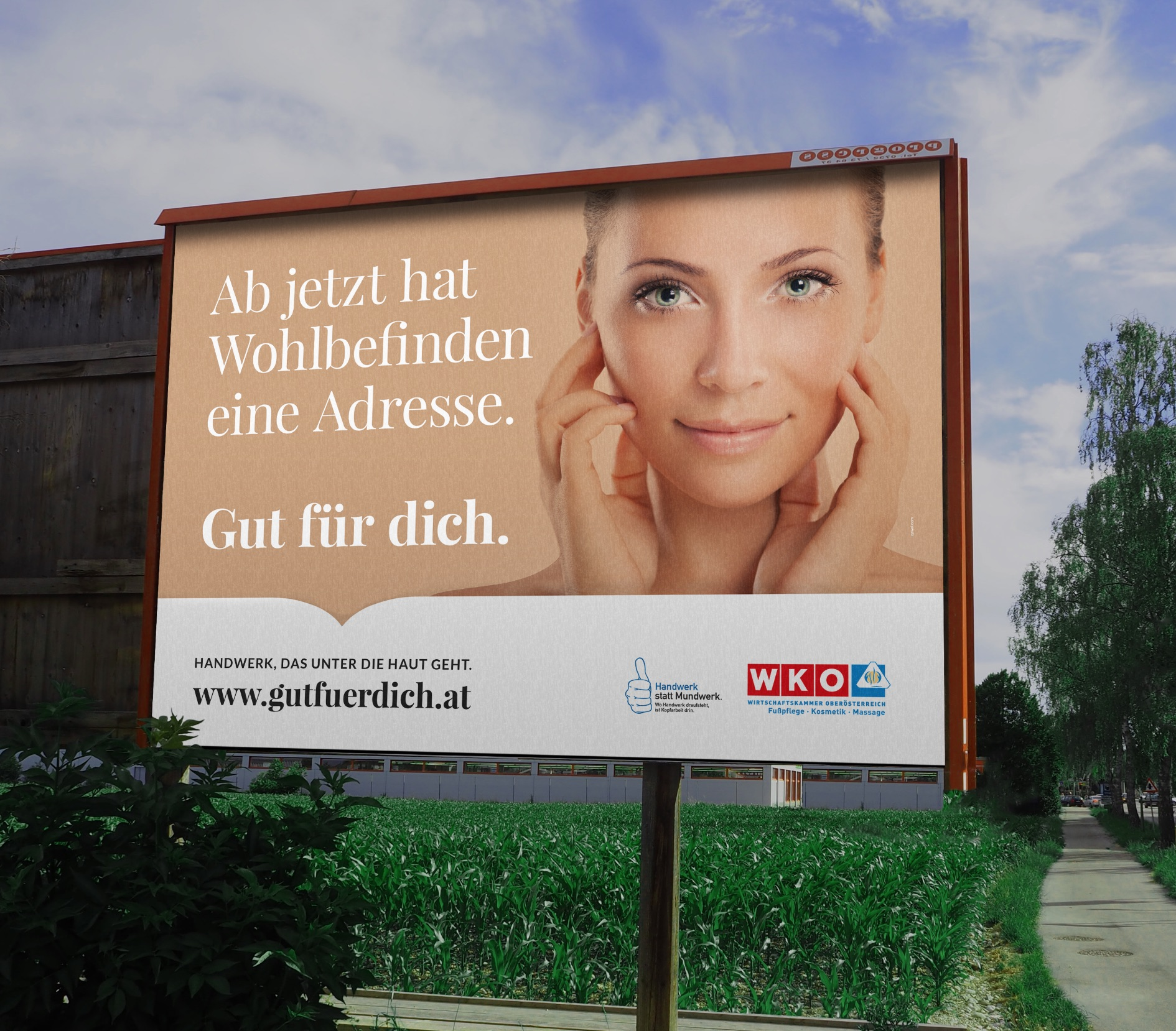 Q2 Werbeagentur, WKO, Plakat