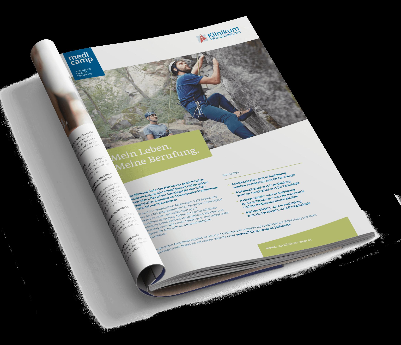 Q2 Werbeagentur, Klinikum Wels-Grieskirchen, Kampagne, Print