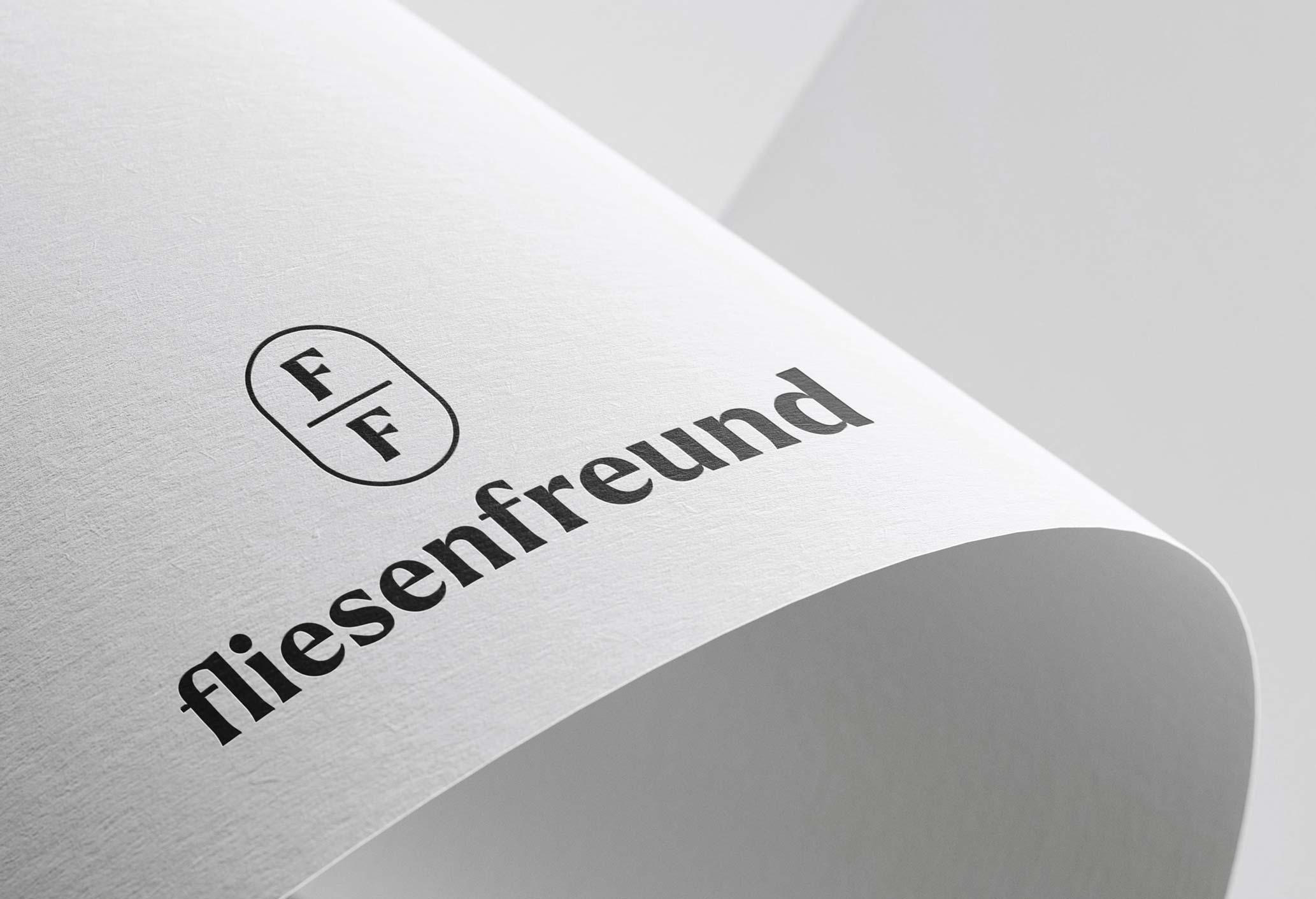 Q2 Werbeagentur, Fliesenfreund, Logo
