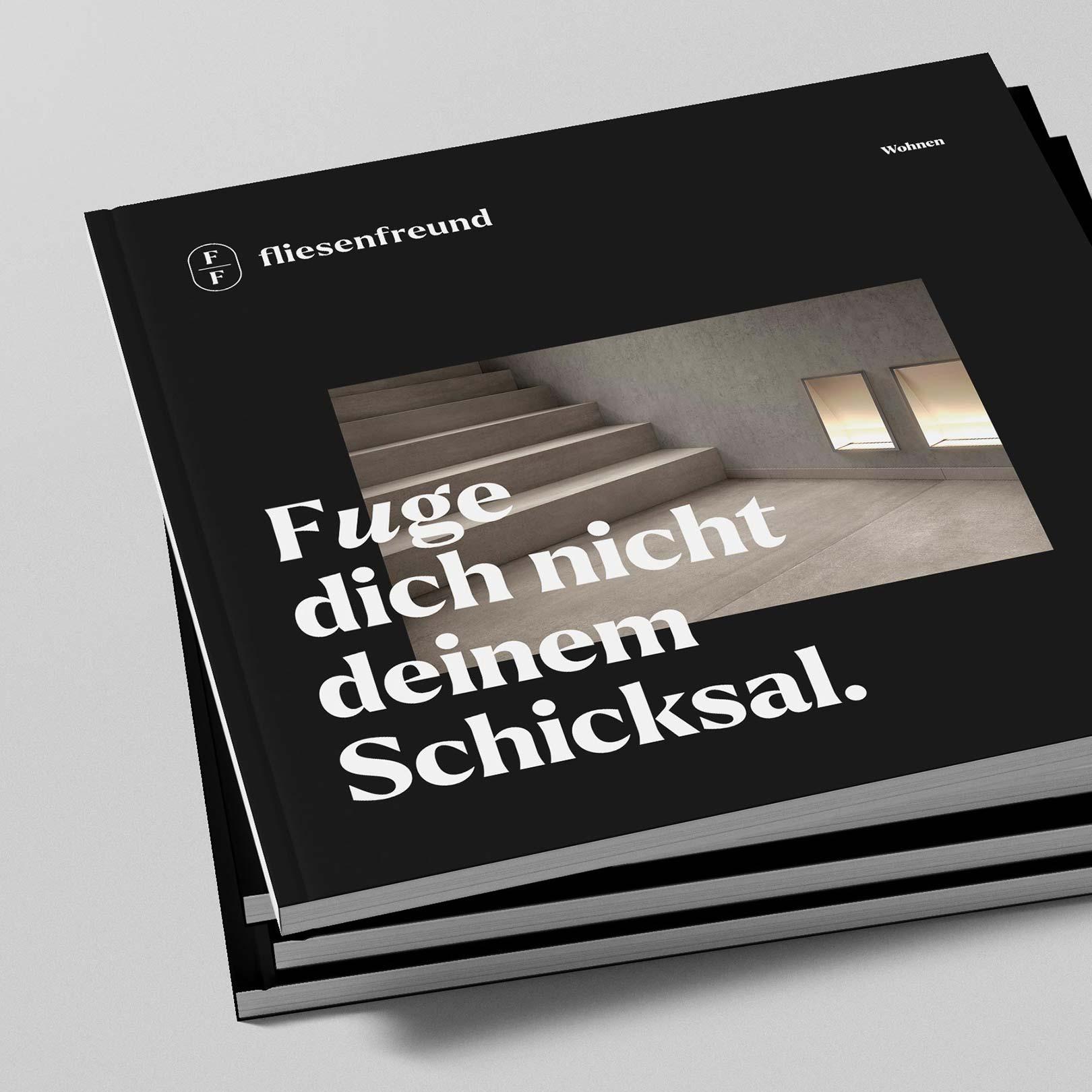 Q2 Werbeagentur, Fliesenfreund, Magazin